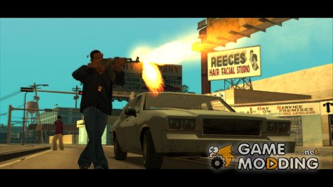 Walk Targeting Fix для GTA San Andreas