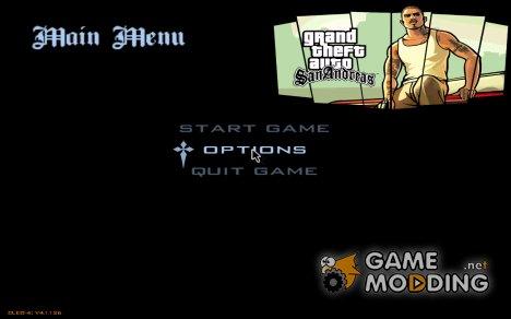 Меню и загрузочные экраны из GTA SA Mobile for GTA San Andreas