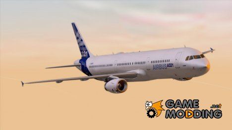 Airbus A321-200 Airbus House Colors для GTA San Andreas
