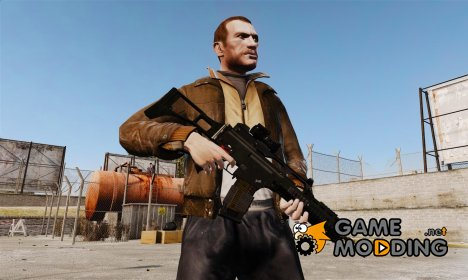 Штурмовая винтовка HK G36k for GTA 4
