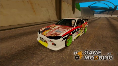 Nissan Silvia S15 - K-on Itasha for GTA San Andreas