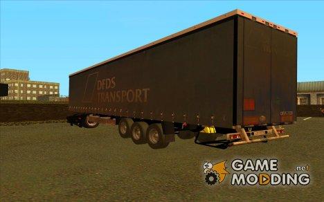 Прицеп Krone для GTA San Andreas