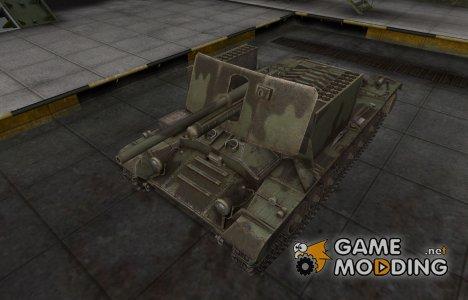Пустынный скин для Valentine AT for World of Tanks