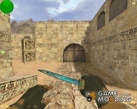 Штык-нож - Мёртвый космос for Counter-Strike 1.6