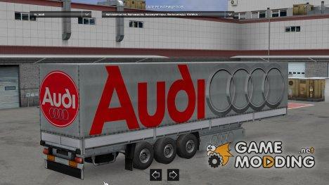 Trailer Pack Car Brands v5.0 for Euro Truck Simulator 2