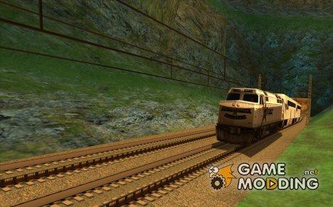 Высокоскоростная ЖД линия for GTA San Andreas