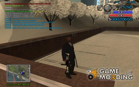 New Hud for GTA San Andreas
