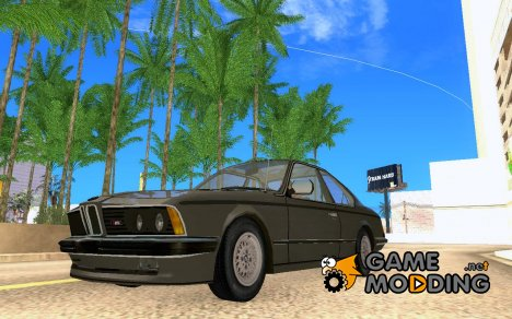 BMW M6 E24 635 CSi for GTA San Andreas