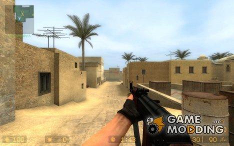 AK74 MADDI on Xero's anims for Counter-Strike Source