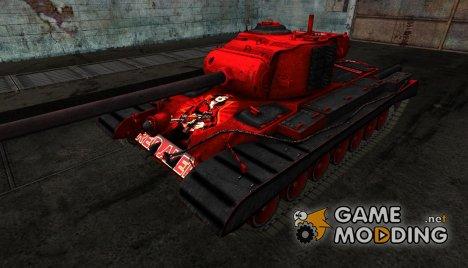 Шкурка для T32 Red Alert для World of Tanks