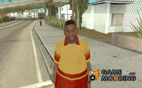 Новый продавец пиццы for GTA San Andreas