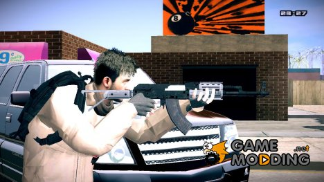 Assault Rifle GTA V для GTA San Andreas