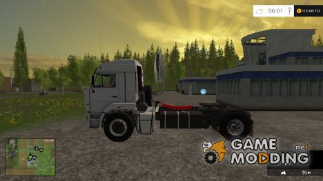 KamAZ 5460 Beta Multicolor v1.0 for Farming Simulator 2015