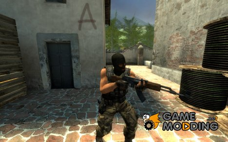 Masked Guerilla V2 для Counter-Strike Source