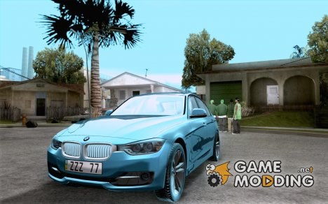 BMW 3 Series F30 2012 for GTA San Andreas