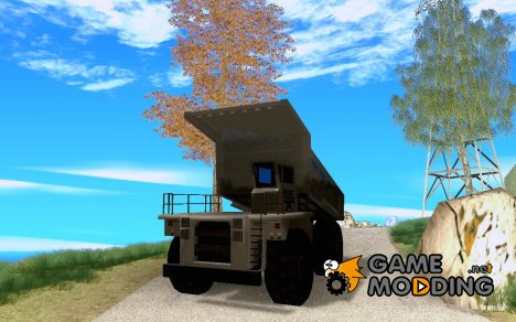 Enterable Dumper mini mod для GTA San Andreas