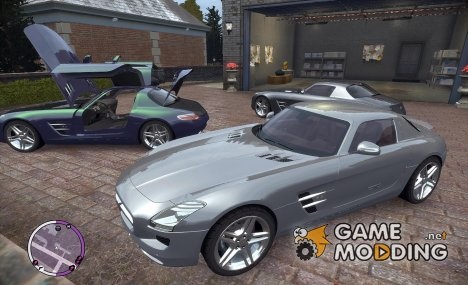 Mercedes SLS AMG for GTA 4
