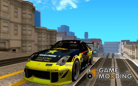 Tanner Foust 350Z for GTA San Andreas