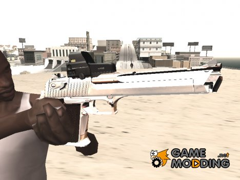 Desert Eagle с новой раскраской for GTA San Andreas