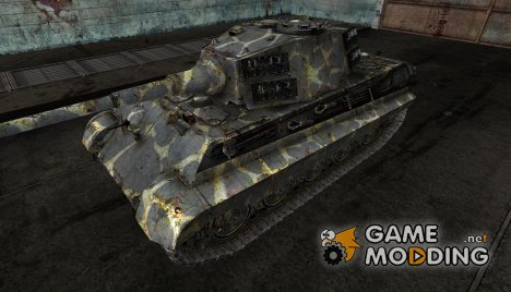 "шкурка для PzKpfw VIB Tiger II ""Ветеран"" for World of Tanks"