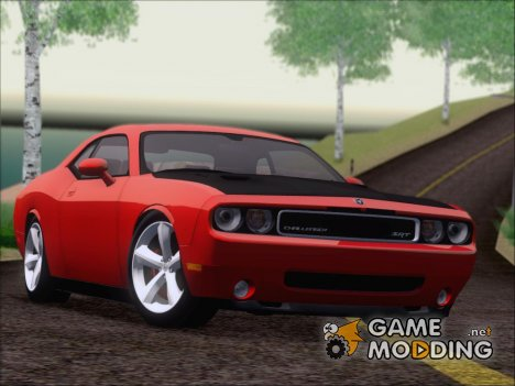 Dodge Challenger SRT8 2009 для GTA San Andreas