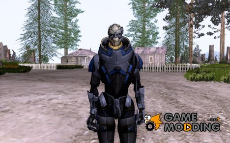 Garrus Vakarian for GTA San Andreas