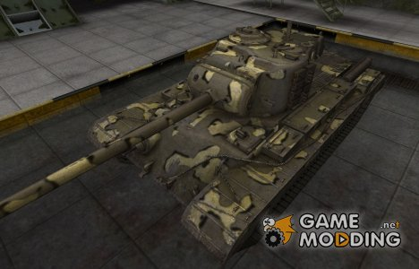 Простой скин T32 for World of Tanks