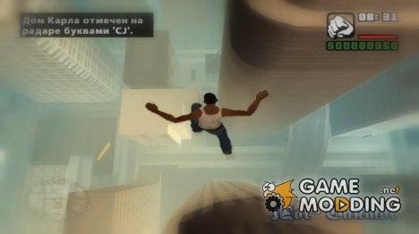 Full god mode for GTA San Andreas