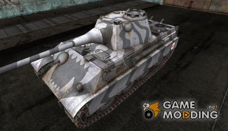 Шкурка для Panther II для World of Tanks