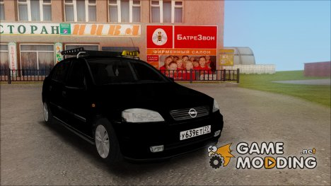 Opel Astra G 1999 Taxi for GTA San Andreas