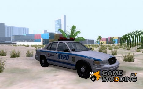 NYPD Precinct Ford Crown Victoria для GTA San Andreas