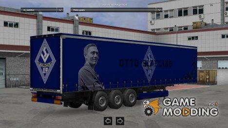 Waldhof Mannheim Trailer for Euro Truck Simulator 2