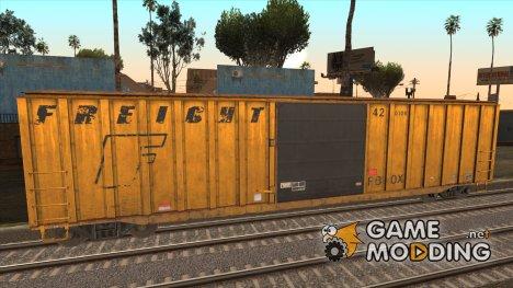 Крытый вагон из GTA V для GTA San Andreas