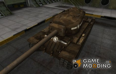 Скин в стиле C&C GDI для T34 for World of Tanks