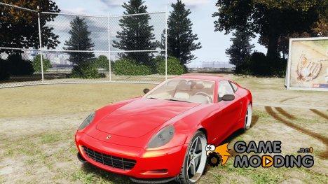 Ferrari 612 Scaglietti custom for GTA 4