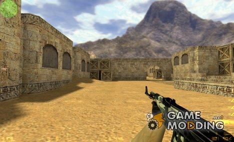 Black&White AK47 for Counter-Strike 1.6