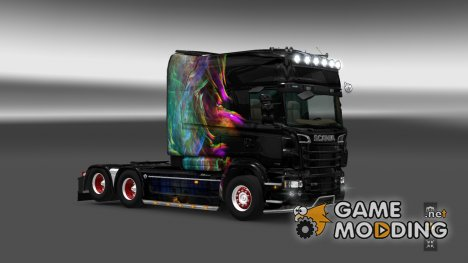 Скин для Scania RJL EXC Longline for Euro Truck Simulator 2