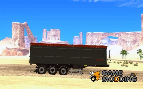 Bodex aluminium keeper trailer for GTA San Andreas