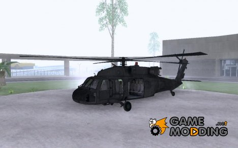 Blackhawk UH60 Heli for GTA San Andreas