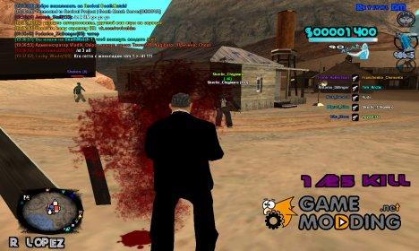 C-HUD A.C.A.B для GTA San Andreas