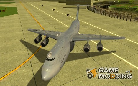 Lockheed C5-M Super Galaxy for GTA San Andreas