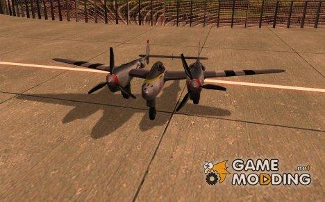 P38 Lightning for GTA San Andreas