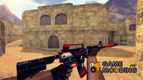 M4A1 Cyrex Retexture для Counter-Strike 1.6