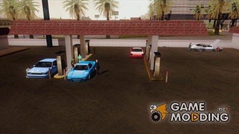 Оживление заправки в Las Venturas for GTA San Andreas