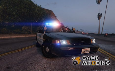 Ford Crown Victoria LAPD для GTA 5