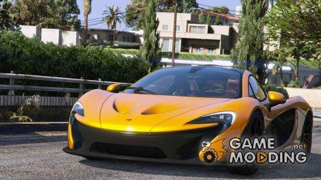 2014 McLaren P1 v2.0 для GTA 5