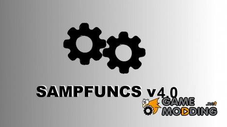 SAMPFUNCS by FYP v4.0 для SA-MP 0.3z для GTA San Andreas