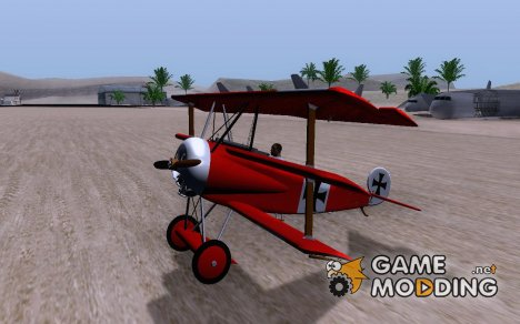 Fokker DR1 for GTA San Andreas