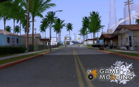 Зимний спидометр для GTA San Andreas