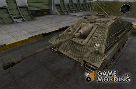 Шкурка для JagdPanther (+remodel) for World of Tanks